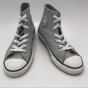 CONVERSE    Leather Chucks - wool lined